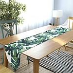 chemin-de-table-feuille-de-bananier-tropical