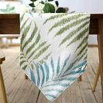 chemin-de-table-feuille-de-palmier-tropical
