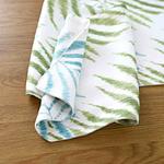 chemin-de-table-feuille-de-palmier-tissu