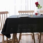 nappe-de-table-rectangulaire-noire-tissu