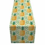 chemin-de-table-tropical-ananas