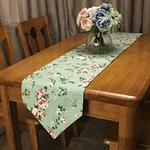 chemin-de-table-floral-roses