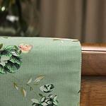 chemin-de-table-floral-coton