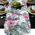 chemin-de-table-cactus-moderne