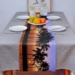 chemin-de-table-hawai-cocotier