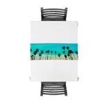 chemin-de-table-theme-hawai-tropical