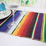 chemin-de-table-mexicain-raye-amerique