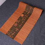 chemin-de-table-style-asiatique-bois-bambou-rouge