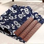 chemin-de-table-motif-japonais-bambou-tissu-fleurs