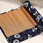 chemin-de-table-motif-japonais-bambou-asiatique