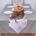 chemin-de-table-tigre-animaux