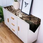 chemin-de-table-leopard-panthere
