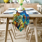 chemin-de-table-poisson-tropical