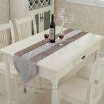 chemin-de-table-strass-velours-gris-rose