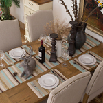 chemin-de-table-marron-beige