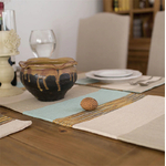 chemin-de-table-marron-beige-bleu