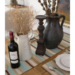 chemin-de-table-marron-beige-creme