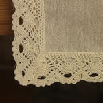 chemin-de-table-dentelle-beige-lin-ancien