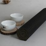 chemin-de-table-bambou-noir-bois-naturel