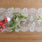chemin-de-table-dentelle-blanc-fleurie