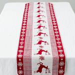 chemin-de-table-noel-scandinave-rennes-rouge