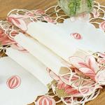 chemin-de-table-dentelle-rose
