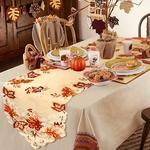 chemin-de-table-automne-feuilles-anniversaire