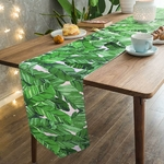 chemin-de-table-hawai-feuilles-bananier