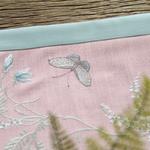 chemin-de-table-bapteme-fille-papillon