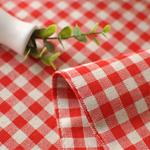 chemin-de-table-vichy-rouge-retro