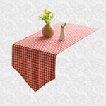 chemin-de-table-vichy-rouge
