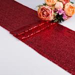 chemin-de-table-en-sequin-rouge
