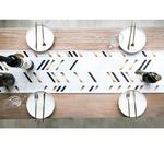 chemin-de-table-nouvel-an-moderne-metallise