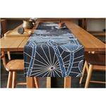 chemin-de-table-japonais-lotus-bleu-anniversaire-voyage