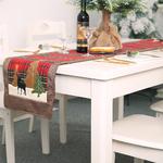 chemin-de-table-noel-ecossais-rouge-renne