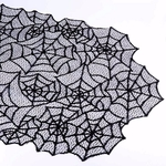 chemin-de-table-toile-d-araignee-halloween-noire