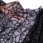 chemin-de-table-toile-d-araignee-noir