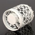 bougeoir-metal-design-blanc
