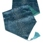 chemin-de-table-reveillon-diamant-bleu-pas-cher