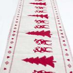 chemin-de-table-noel-blanc-et-rouge-sapin