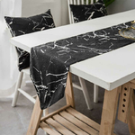 chemin-de-table-nouvel-an-design-marbre-noir