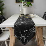 chemin-de-table-nouvel-an-design-noir-marbre