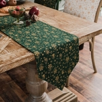 chemin-de-table-noel-or-vert
