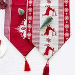chemin-de-table-noel-scandinave-rouge-et-blanc