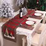 chemin-de-table-noel-ecossais-rouge-vert