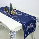 chemin-de-table-noel-bleu-brode