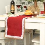 chemin-de-table-noel-naturel-rouge-dentelle
