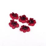 petales-de-fleurs-artificielles-rouge-noir-mariage