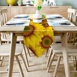 chemin-de-table-tournesol-jaunes-anniversaire