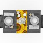 chemin-de-table-tournesol-anniversaire-nature-fleurs